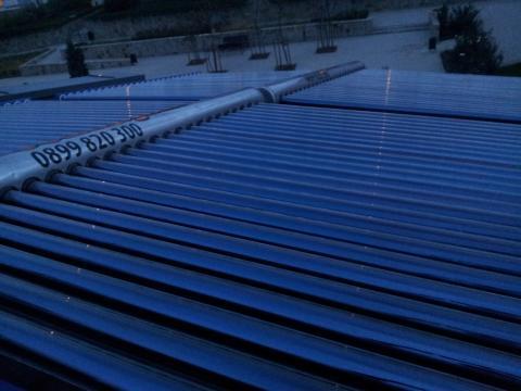 Отопление с 10kW слънева система