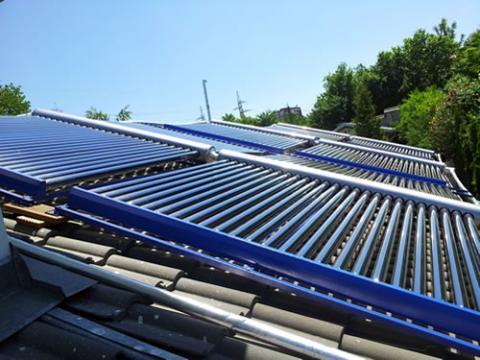 Слънчеви Колектори 30kW за къща над 400кв.м.